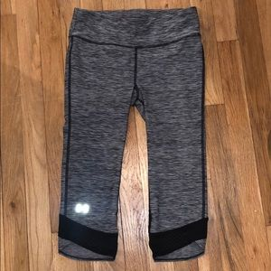 Grey Under armor leggings